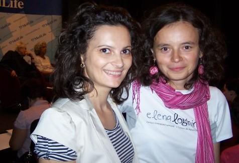 mamicaurbana şi Elena Loghin