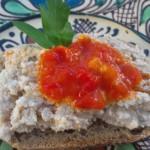 Pastă de brânză cu sardine