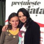 Andreea Marin şi Şcoala Mamelor la Braşov
